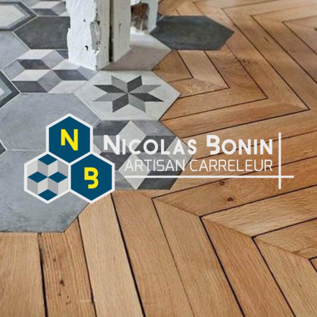 création graphique logo Nicolas Bonin