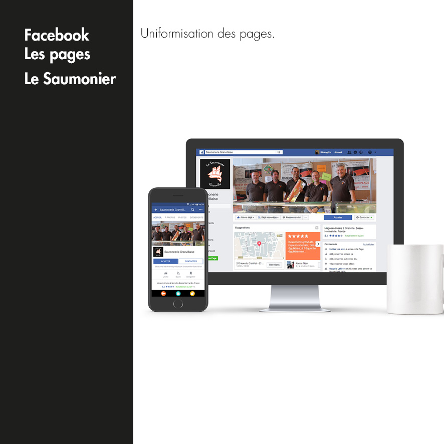 Facebook Le Saumonier