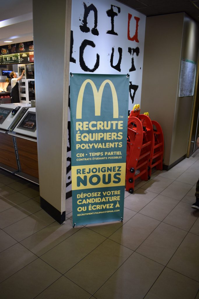 Conception graphique Mc Do