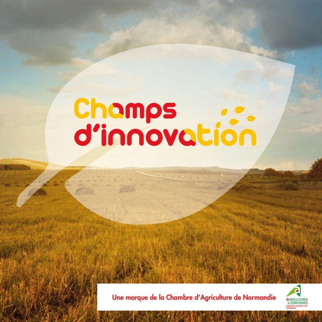 conception logo Champs d'innovation